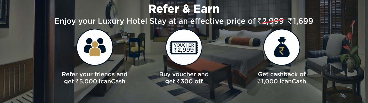 Get 4 And 5 Star Hotels @ Rs 2999 Incl  GST All Over India